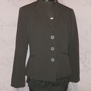 Worthington works black blazer size 12P